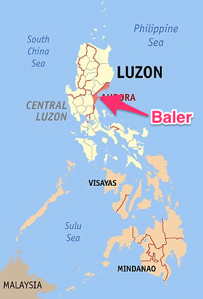 Localización de Baler