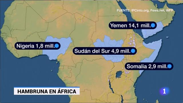 Mapa Del Hambre 2017.Hambre En Africa Mirada Sobre La Historia